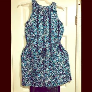 Beautiful Ann Taylor LOFT Floral Summer Dress